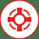 Icon_Data_Safe_red_white_cmyk
