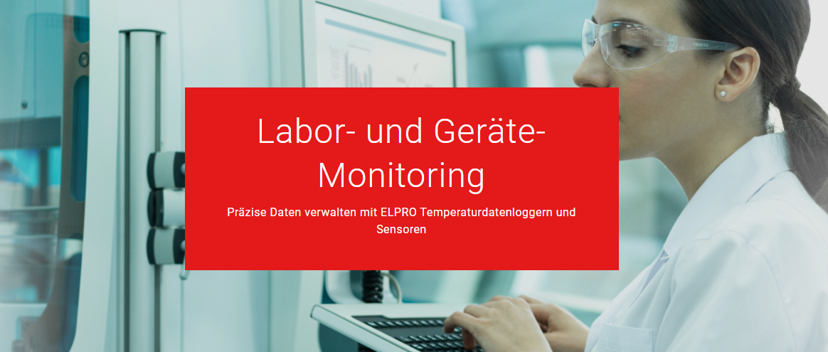 Lab & Equipment Monitoring DE